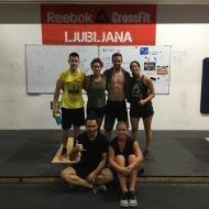 Emmanuelle Attia and Tressy Martino, CrossFit Enyeto - Lyon 9e. Francija