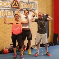 Barry Collins, Cheryl Lee, CrossFit Connect Brighton