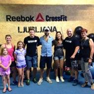 Carolina Delibassis, Lorenzo Tarchi, CrossFit Firenze