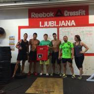 Diego Fernandez, Dani Ph in Guillermo Garcia Cuervo,  Brown Bears CrossFit, Asturia, Španija