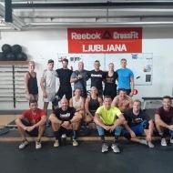 Gastinger Veronika & Michael Riegl, CrossFit Dachau, Nemčija; Thomas Landgraf, CrossFit Freiburg, Nemčija; Mohamed Bahrain