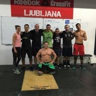 Satu Hantala, CrossFit Sörnäinen, Helsinki Finland Ronan Hellou, CrossFit Nemesis Senlis France