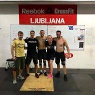 Linda Heldoorn in Juust van Raak, CrossFit Tiel, Nizozemska