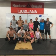 Jarno in Lisa Kukila, CrossFit Central Helsinki, Finland
