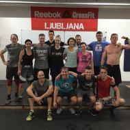 Julie Dignouts in Luuk Penn, CrossFit Den Bosch