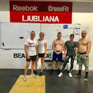 David Konopka & Jana Kaulfuss, Crossfit Stuttgart Nemčija Kevin Laros & Lian Schouwenaars CrossFit Zuid, Nizozemska
