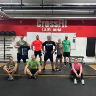 Maria Cron in Andre Solbe, CrossFit 108, Nemčija