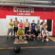 Marie Guisolan in Sam Rapin, CrossFit Payerne, Švica