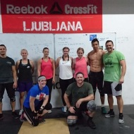 Mathilda Melin CrossFit Karlskoga, Johanna Hermansson Vagnhallen CrossFit Sabina Forsberg
