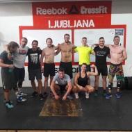 Naši prijatelji iz Maribora s kolegoma iz Francije