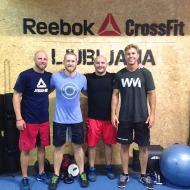 Chris Prine Jr., Chris Rushing, Jay Adcock and Danny Jones