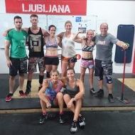 Liina Raidma, CrossFit Tartu Estonia Janine Slee, CrossFit Climbers Cabin Nizozemska