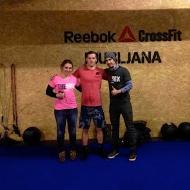 Tina Žigart in Xabier Habernau Gonzalez iz CrossFit Zurriola, San Sebastian, Španija