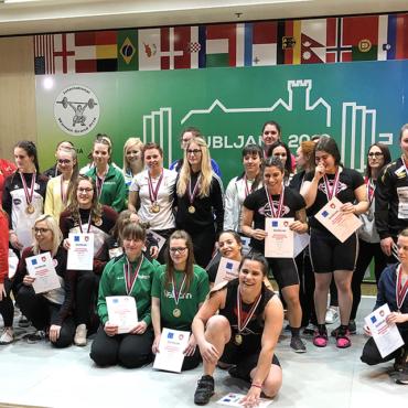 Zaključek 16th International women weightlifting Grand Prix – mednarodno tekmovanje v olimpijskem dviganju uteži