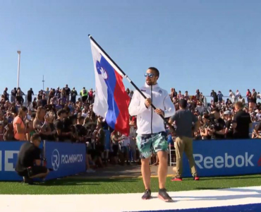 Aleks Koštomaj – prvi slovenec na Reebok CrossFit Gamesih