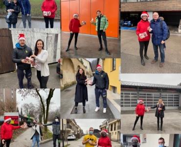 """Dobrodelna akcija članov in prijateljev športnega centra CrossFit Ljubljana """"DELIMO SREČO"""""""